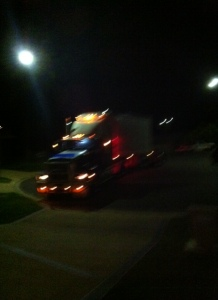 This truck arrived in our close at 10pm one Saturday night with our new outdoor furniture. Great delivery service - even though it was a week or so late!